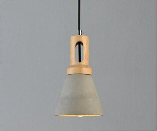 XDDCDL Lámpara de Techo Cemento Industrial Estilo Moderno Candelabro Colgante de luz...