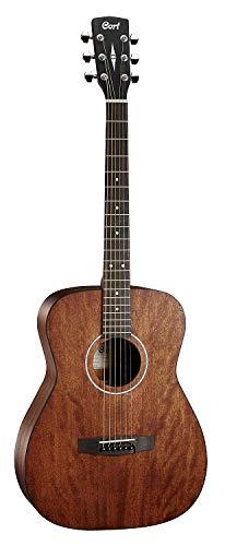 Cort AF510 Akustikgitarre Standard Series (Konzertkorpus), Mahagoni - Standard Schwalbenschwanz