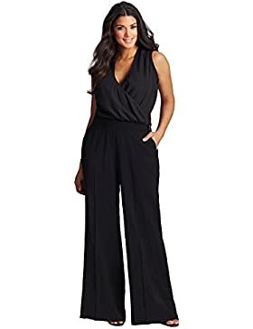 Designer Damen Jumpsuit Elegant Lang Hose/Oberteil auch Große Größen, Frauen Overall Partykleid sexy Abendmode...