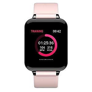 Chenang Sport intelligente Uhr zur Herzfrequenz-und Fitnessaufzeichnung, Wasserdicht IP67 Smartwatch Fitness Armband Uhr mit Pulsmesser