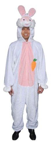 Dress Up America Costume mascotte adulto coniglietto pasquale coniglietto bianco