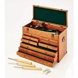 Clarke Werkstattfeile aus Holz Werkzeugtruhe - CMW-9