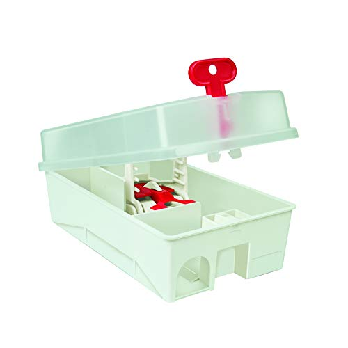 The Big Cheese Ultra Power Mouse Trap Kit (Lockable, Baited, Protects Children and Pets from Traps)