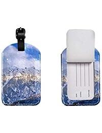 87ae6ac22789a7 Valigia in pelle PU etichetta bagaglio, regolabile cinturino in pelle  antigraffio etichetta, design elegante