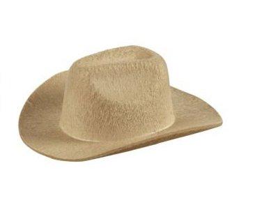 MINI - HUT - COWBOY -, beige mit 2 (Hüte Mini Cowboy)