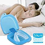 Sparkling White Smiles Silent Sleep Teeth Mouth Guard - Stop Teeth Grinding And Clenching - Best Teeth Grinding Solution On The Market