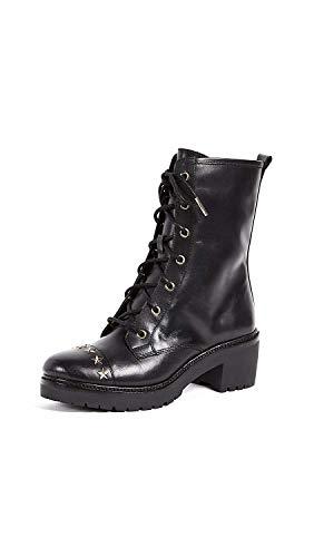 Michael Kors Damen Stiefel Schuhe Cody Boot Leather Star Studs 40F7CDMB9L Black