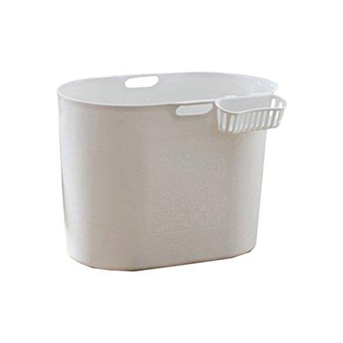 FJXLZ® Aufblasbare Badewanne, zusammenklappbare Badewanne Erwachsener Haushalt verdickendes Plastikbadefass Dickere Isolierung Zusammenklappbar Badewanne ( Farbe : Weiß )