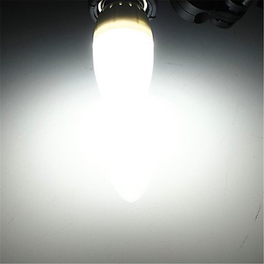 FDH 1 pcs E14 3 W 10 SMD 300 lm / blanco cálido, blanco frío bombillas LED Vela decorativa 100-240 V CA,blanco cálido.