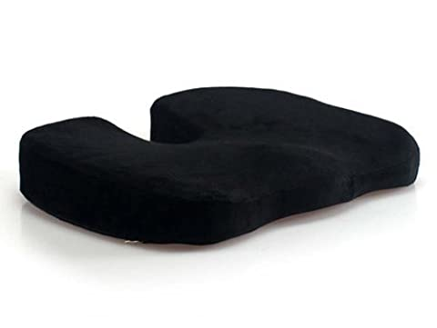 LoveHome Coccyx Seat Cushion Memory Foam For Lower Back Pain,