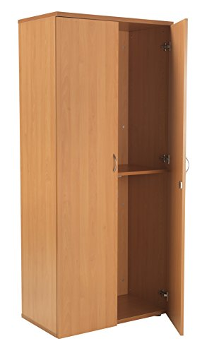 For Sale Office Hippo High Office Cupboard, 180 cm – Beech Online