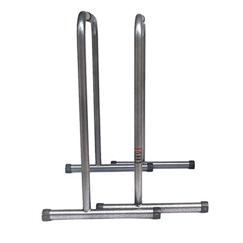 Melodycp ReLife Rebuild Your Life Funktionale Heavy Duty Fitness Workout Dip Bar Station Stabilisator Push Up Stand, Stahl, Schwarz, 80 * 63 * 46cm - Inversion Bar