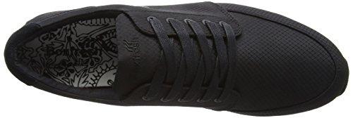 Boxfresh Struct Inc Rip Nyl Blk/Blk, Baskets Basses homme Noir - Noir