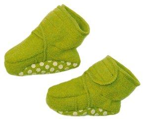 Disana Walkschuhe aus Schurwolle, (01) 4-8 Monate, grün