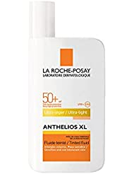 ANTHELIOS XL SPF 50+ Ultra Light Tinted Fluid, Very High Facial Sun Protection for Normal to Combination Skin 50ml