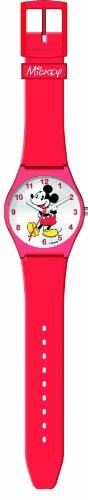 Disney Mickey Red 26373 - Orologio da polso Unisex