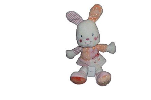Kiabi–Doudou Kiabi kitchoun conejo vestido salmón...