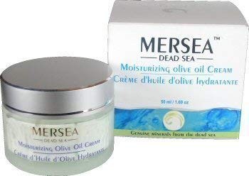 MERSEA Totes Meer - Feuchtigkeitsspendende Tagescreme mit Olivenöl (UV-Schutz), 50 ml - Hochwirksame Premium Kosmetik - Direkt aus Israel vom Toten Meer