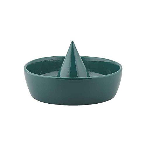 Sombrero de rangement Corbeille à fruits s en céramique vert