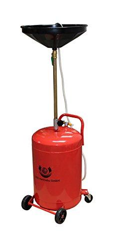 D&S Vertriebs GmbH 80 Liter Ölablassgerät Ölauffanggerät Ölauffangwagen Altöl Ölauffangbehälter