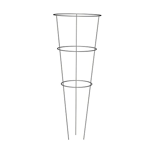 Panacea 89723 Tomato and Plant Support Cage, Galvanized, Set of 10