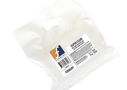 2kg 1kg + 1kg Base Jabón glicerina transparente