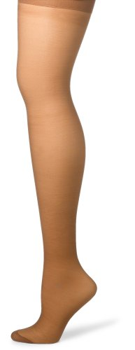 Hanes Silk Reflections Women's Silky Sheer Hosiery, Barely There, EF (Pack of 3) -