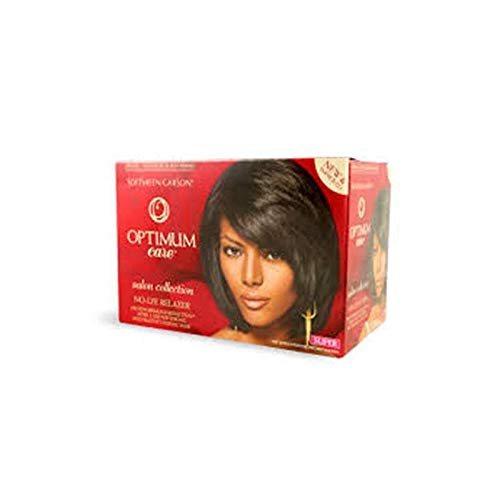 SoftSheen-Carson Kit Défrisant sans Soude Anti-Casse Optimum Care Salon Collection Super
