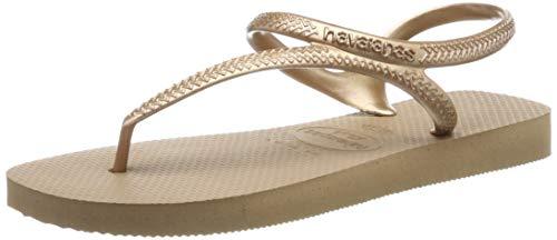 Havaianas Damen Flash Urban Sandalen, Rose Gold), 39/40 EU - Design Havaianas