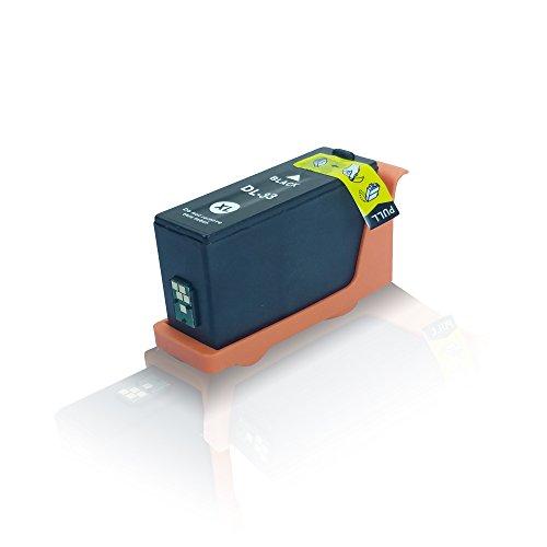 kompatible Tintenpatrone - Schwarz Black - für Dell V525w V725w V525 w V725 w V 525 w V 725 w 592-11807 592-11812 - Eco Office Serie (Dell V525)