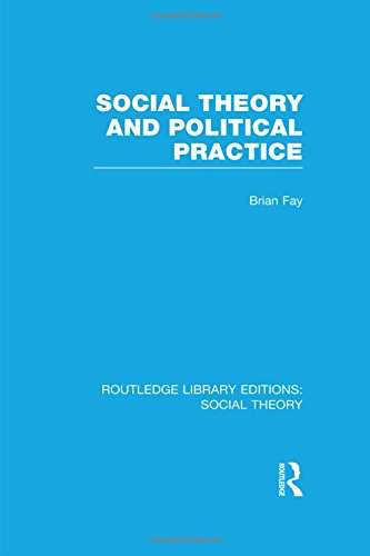 Social Theory and Political Practice (RLE Social Theory) (Routledge Library Editions: Social Theory)