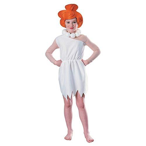 Dress Fancy Basketball Kostüm - Wilma Feuerstein TM-Kostüm für Mädchen - 5 bis 7 Jahre