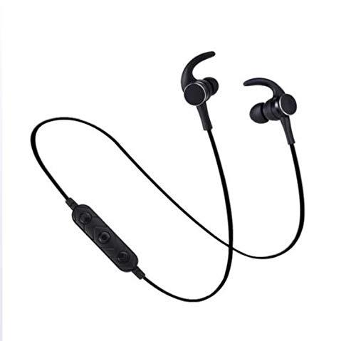 Unbekannt Drahtlose Bluetooth-Kopfhörer, kleine Hörner Ohr-Test-Metallmagnetsport-Bluetooth-Kopfhörer-Hall-Magnetschalter Stereo,Clear