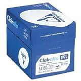 Clairefontaine Clarialfa Ramette de 500 feuilles papier blanc 80 g A4 Lot de 5