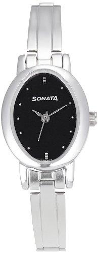 Sonata  Analog Black Dial Women's Watch -  8100SM02 image