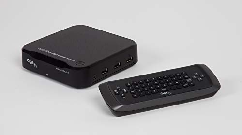 Giga TV Android HD620 T - Reproductor multimedia, sistema Android, USB 2.0, color negro