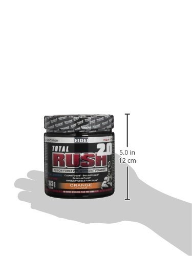 Weider Total Rush 2.0, Orange, 1er Pack (1 x 375 g) - 6