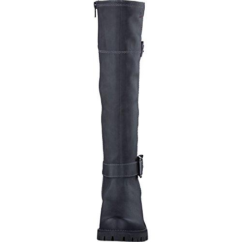 s.Oliver Damenschuhe 5-5-25607-27 Damen Stiefel, Boots Black Comb
