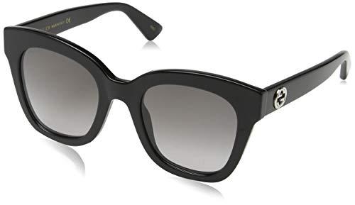 Gucci Damen GG0226S 003 Sonnenbrille, Braun (3/Green), 56