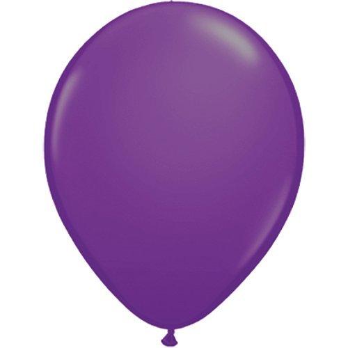 partydiscount24 5 x Luftballons Ø 30 cm   Freie Farbauswahl   23 Ballon Farben (Violett)