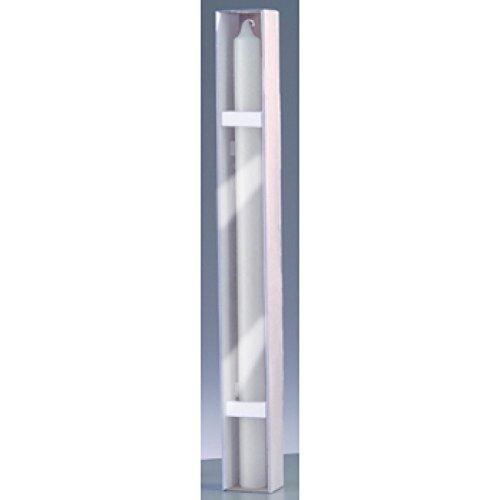 efco 3509144 Kerze, Wachs, 40 x 4 x 4 cm, weiß