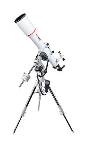 Bresser Messier Télescope AR-102L/1000 EXOS-2 EQ-5 GoTo Blanc