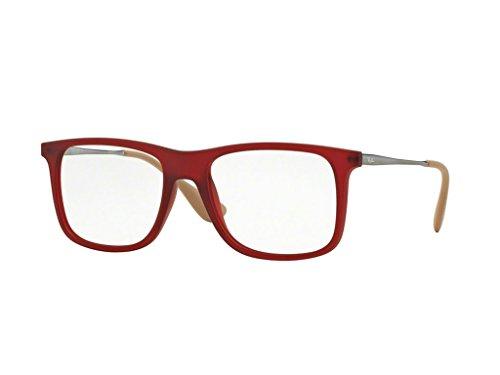 Ray-Ban Herren Brillengestell Rot rot