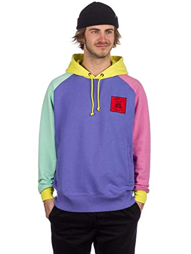 Teddy Fresh Herren Kapuzenpullover Color Block Hoodie -
