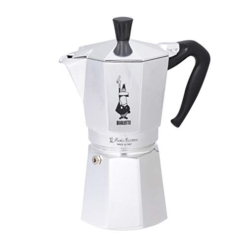 Bialetti Moka Express 9 Tassen Espressokocher
