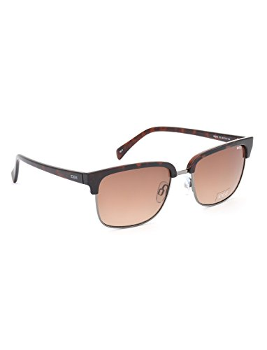 IDEE Gradient Square Men\'s Sunglasses - (IDS2300C3SG|55|Brown Gradient Color)