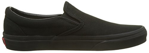 Vans Classic Slip-On Canvas, Sneaker Unisex-Adulto Nero (Black)