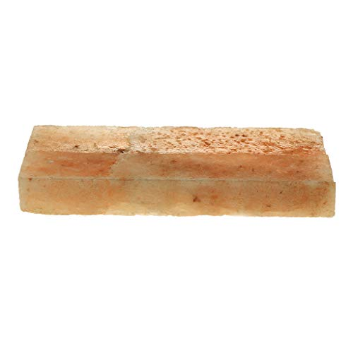 P Prettyia BBQ Himalaya Salzsteine Holzkohle Salzplatten, 20x10cm - B