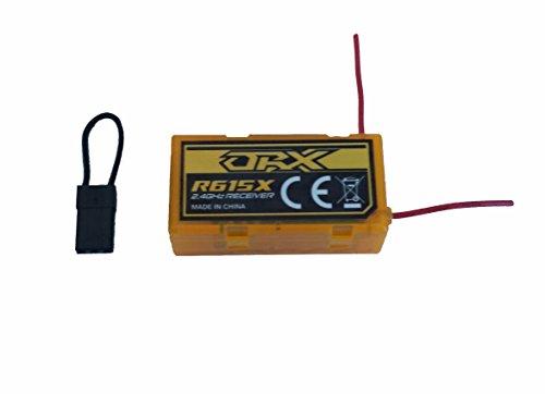 dsmx empfaenger MR-Onlinehandel ® Orange RX R615X DSM2 + DSMX + CPPM 6CH 2,4 Ghz Empfänger Reciever JR/Spektrum DX 4, 5e, 6i, 7, 8 usw.