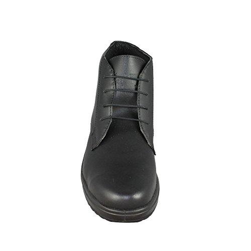 Aimont Marie S1 Sicherheitsschuhe Arbeitsschuhe Trekkingschuhe hoch Schwarz Schwarz